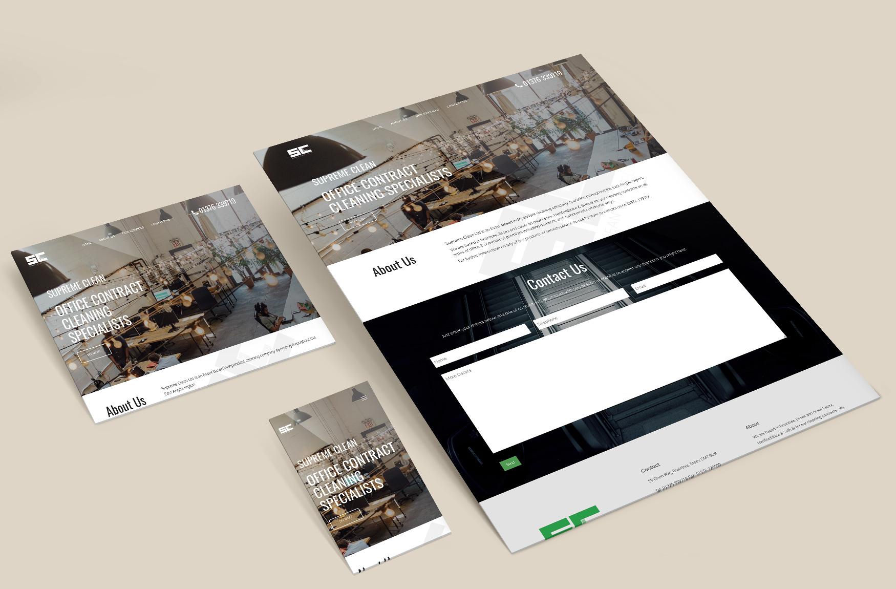 Supreme Clean Site Overview